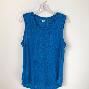 Xersion relaxed fit sleeveless tank top size S